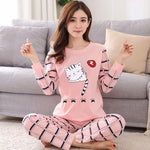 Madame Noy Winter collection tendance femme asiatique pyjama dessin fantaisie Long tail cat / 2XL / China Madame Noy | Mode, Lifestyle & Déco | Thaï | Lao | Khmer | Viet