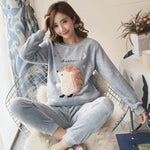 Madame Noy Winter collection tendance femme asiatique pyjama multi color q9653 grey / XXL Madame Noy | Mode, Lifestyle & Déco | Thaï | Lao | Khmer | Viet