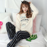 Madame Noy Winter collection tendance femme asiatique pyjama multi color white bear / XXL Madame Noy | Mode, Lifestyle & Déco | Thaï | Lao | Khmer | Viet