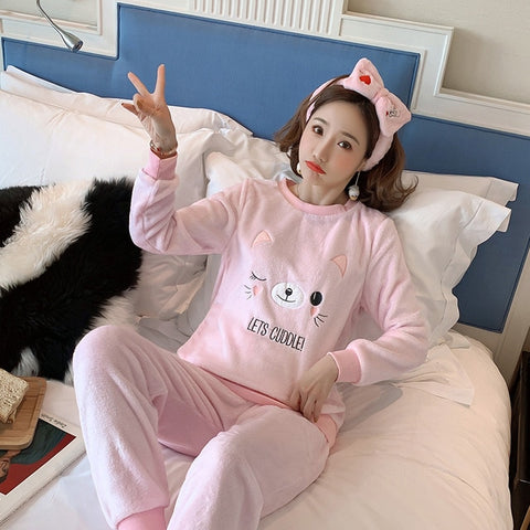Madame Noy Winter collection tendance femme asiatique pyjama multi color q9651 pink / XXL Madame Noy | Mode, Lifestyle & Déco | Thaï | Lao | Khmer | Viet