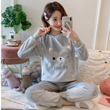 Madame Noy Winter collection tendance femme asiatique pyjama multi color q9651 gray / XXL Madame Noy | Mode, Lifestyle & Déco | Thaï | Lao | Khmer | Viet