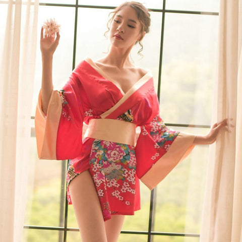 Madame Noy Madame Noy kiss new collection thailand japon Kimono Robe Sexy floral  Madame Noy | Mode, Lifestyle & Déco | Thaï | Lao | Khmer | Viet