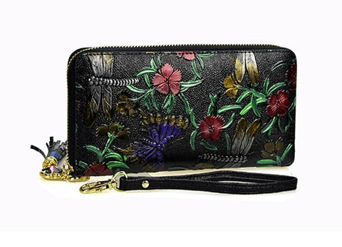 Madame Noy Nouvelle collection Bangkok sac portefeuille porte monnaie Femme style Leather P1-Dragonfly Madame Noy | Mode, Lifestyle & Déco | Thaï | Lao | Khmer | Viet