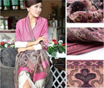 Madame Noy Nouvelle collection Echarpes Mode asiatique style Paisley flower  Madame Noy | Mode, Lifestyle & Déco | Thaï | Lao | Khmer | Viet