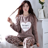 Madame Noy Winter collection tendance femme asiatique pyjama cole en V gris coffee pajama sets / XXL Madame Noy | Mode, Lifestyle & Déco | Thaï | Lao | Khmer | Viet