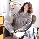 Madame Noy Winter collection tendance femme asiatique pyjama cole en V gris gray pajama sets / XXL Madame Noy | Mode, Lifestyle & Déco | Thaï | Lao | Khmer | Viet