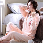 Madame Noy Winter collection tendance femme asiatique pyjama cole en V gris pink pajama sets / XXL Madame Noy | Mode, Lifestyle & Déco | Thaï | Lao | Khmer | Viet