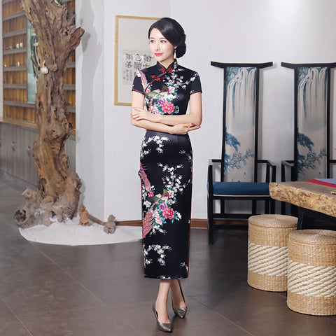 Madame Noy Robe Asiatique new collection Qipao Cheongsam Femme Modern Style Beading  Madame Noy | Mode, Lifestyle & Déco | Thaï | Lao | Khmer | Viet