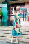 Madame Noy Robe Ao Dai New collection Vietnam Femme style print floral  Madame Noy | Mode, Lifestyle & Déco | Thaï | Lao | Khmer | Viet