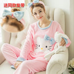 Madame Noy Winter collection tendance femme asiatique pyjama  Cute Cartoon Mujer rong hujiemao pink / XXL Madame Noy | Mode, Lifestyle & Déco | Thaï | Lao | Khmer | Viet