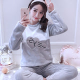Madame Noy Winter collection tendance femme asiatique pyjama  Cute Cartoon Mujer rong YSjiantou gray / XXL Madame Noy | Mode, Lifestyle & Déco | Thaï | Lao | Khmer | Viet