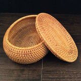 Madame Noy 100% handmade Vietnam Autumn Rattan jewelry storage box organizer crafts snacks ornament dried fruit  food Sundry neating basket  Madame Noy | Mode, Lifestyle & Déco | Thaï | Lao | Khmer | Viet