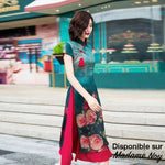 Madame Noy Robe Asiatique Qipao Cheongsam nouvelle tendance Femme style Modern luxury (free shipping)  Madame Noy | Mode, Lifestyle & Déco | Thaï | Lao | Khmer | Viet