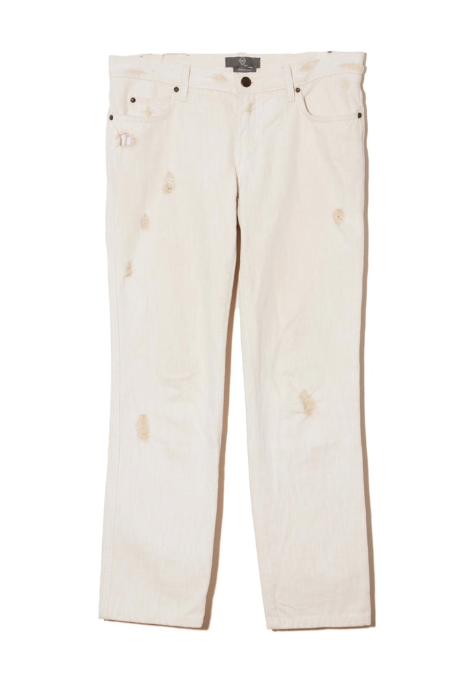 Alexander McQUEEN DAMEGE DENIM PANTS