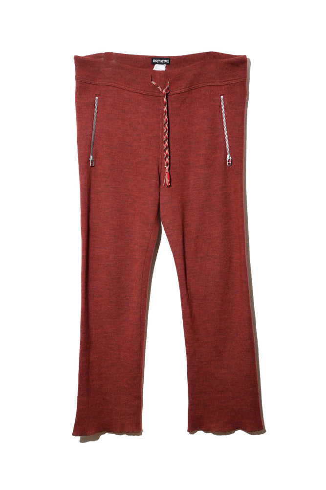 ISSEY MIYAKE KNITTED TROUSERS