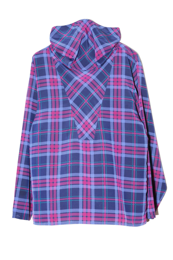 CHRISTIAN DIOR HI-NECK CHECK SHIRT
