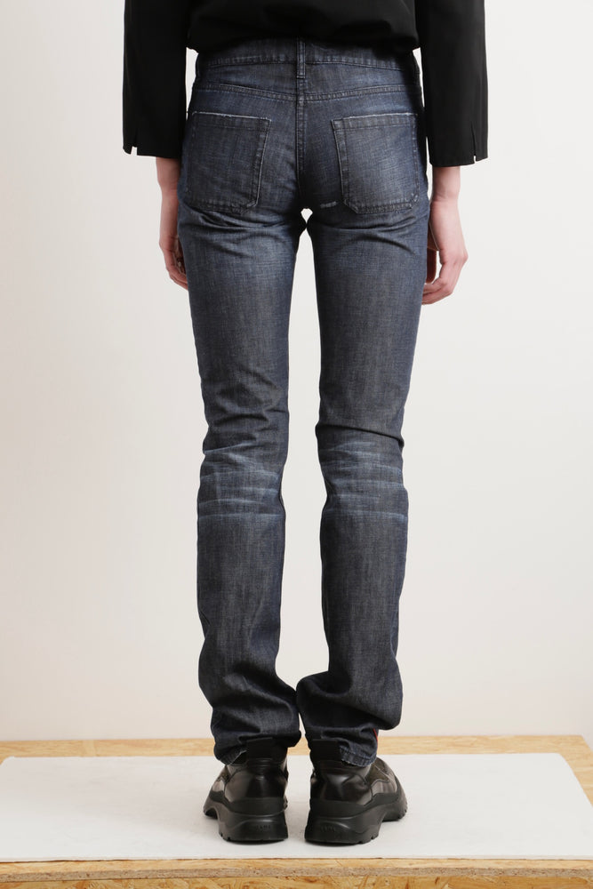 PRADA SPORTS ARCHIVES SKINNY DENIM PANTS