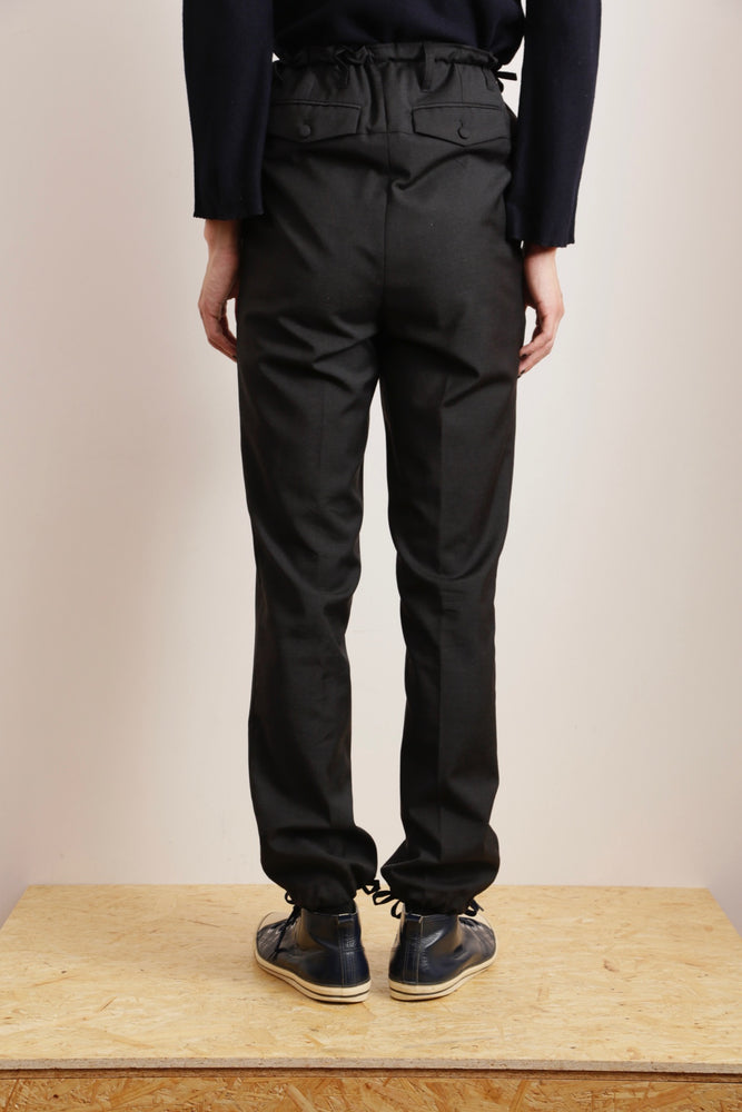 MIUMIU MENS LEATHER PANTS