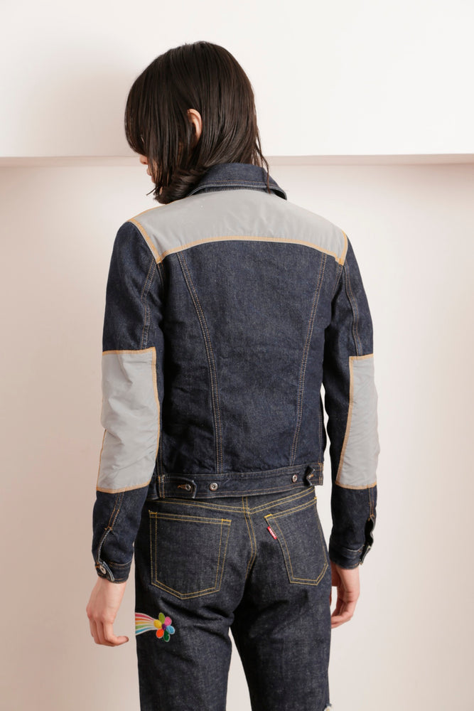 THE ELEPHANT CUSTOM DOUBLE NYLON BLOUSON