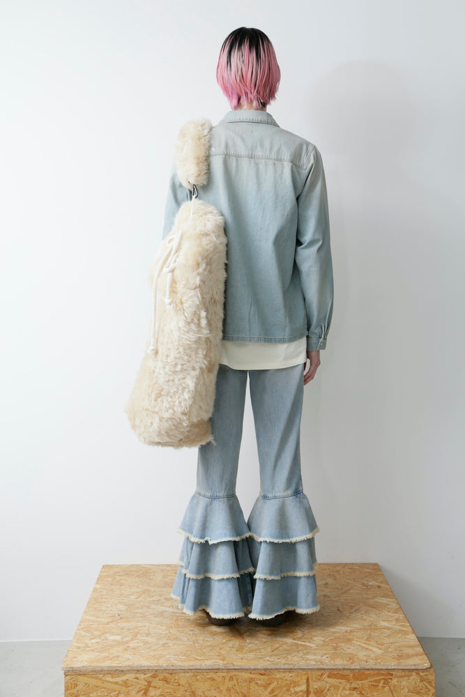 PRADA NYLON HALF COAT