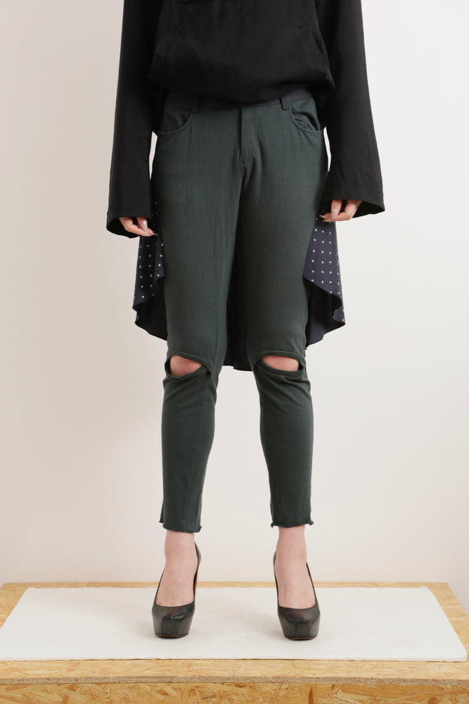 UNDERCOVER SKIRT DOCKING PANTS
