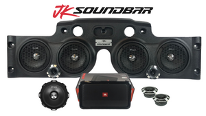 "JK/JKU American SoundBar ""All American"" Fully Equipped Package- American Bass"