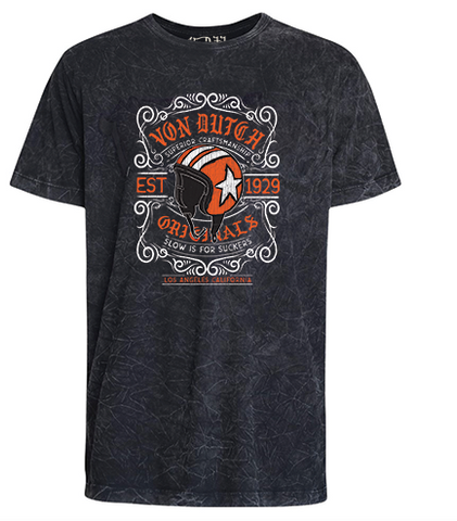 Camiseta Von Dutch Superior Craftsmanchip Marmorizado