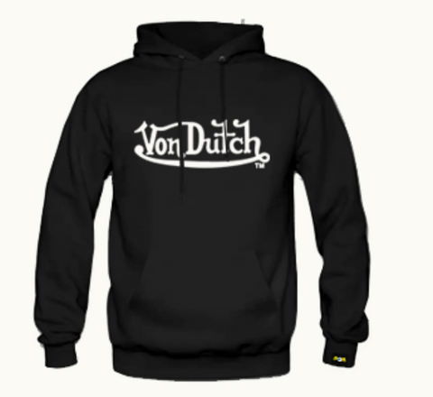 Moletom Peluciado Von Dutch Signature Preto
