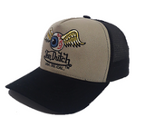 Boné Von Dutch Trucker Eyeball USA So Cal