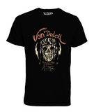 Camiseta Von Dutch Moto Live Fast