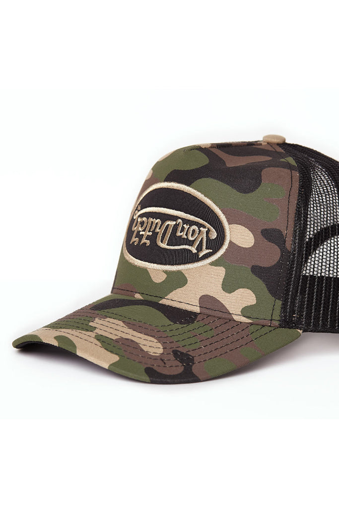 Boné Von Dutch Trucker Inverted Camo