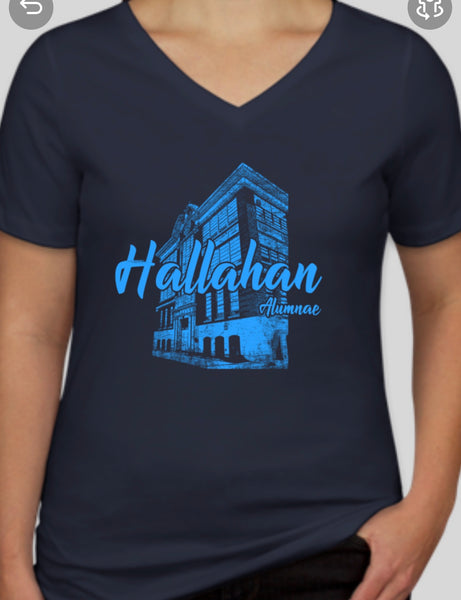 Hallahan v-neck woman's shirt