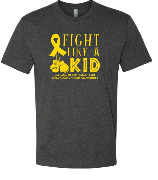 Fight Like a Kid Childhood Cancer T-Shirt
