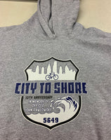 Officer John Pawlowski city to shore bike ride Hoodie