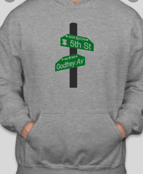 5th and Godfrey hoodie