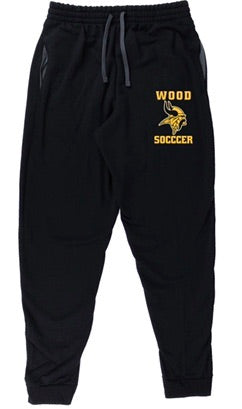 Wood soccer sweatpants