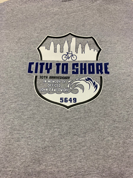 Officer John Pawlowski city to shore T-Shirt