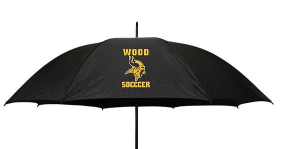 Wood soccer umbrella