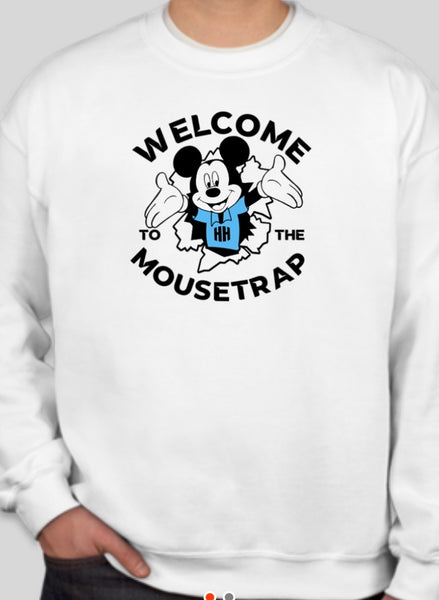 Crew Neck Sweatshirt mousetrap