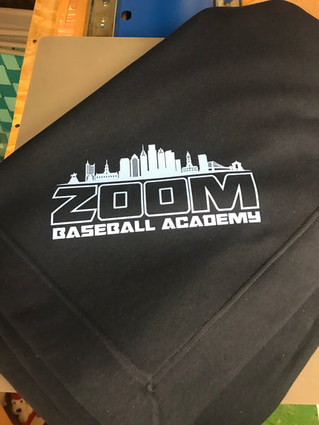 Zoom throw blanket
