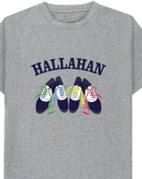 Hallahan saddle shoe shirt
