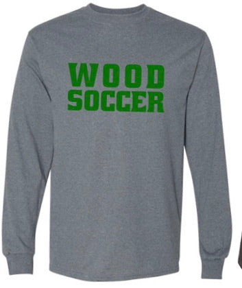 Wood soccer long sleeve T-Shirt