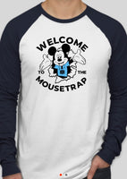 Welcome to the mousetrap baseball tshirt