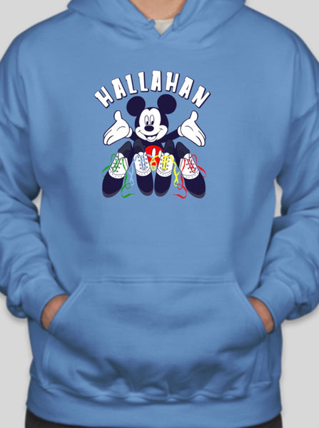 Hallahan saddle shoes hoodie