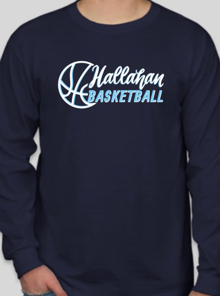 Hallahan Basketball long sleeve shirt