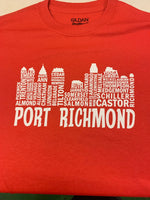 Port richmond skyline shirt
