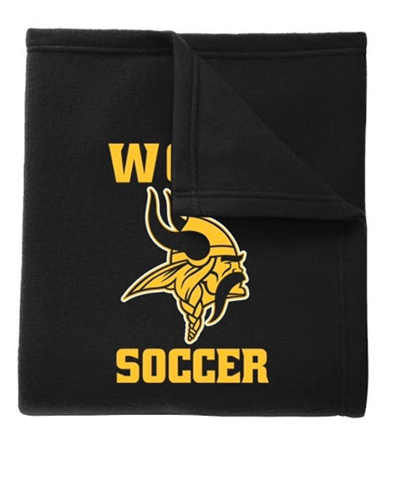 Archbishop Wood soccer blanket
