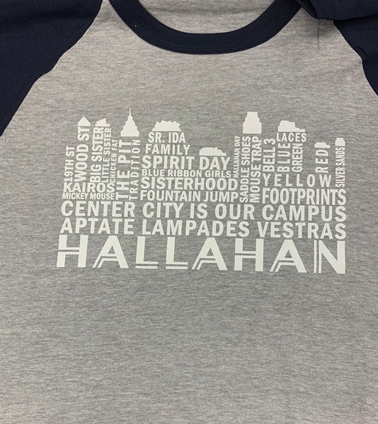 Hallahan memories baseball t-shirt