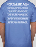 Blue lives matter fallen officers shirt