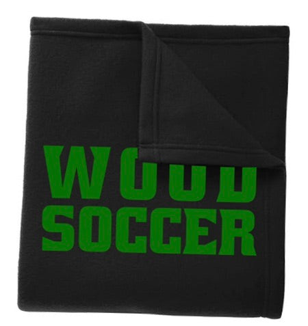 Wood soccer blanket